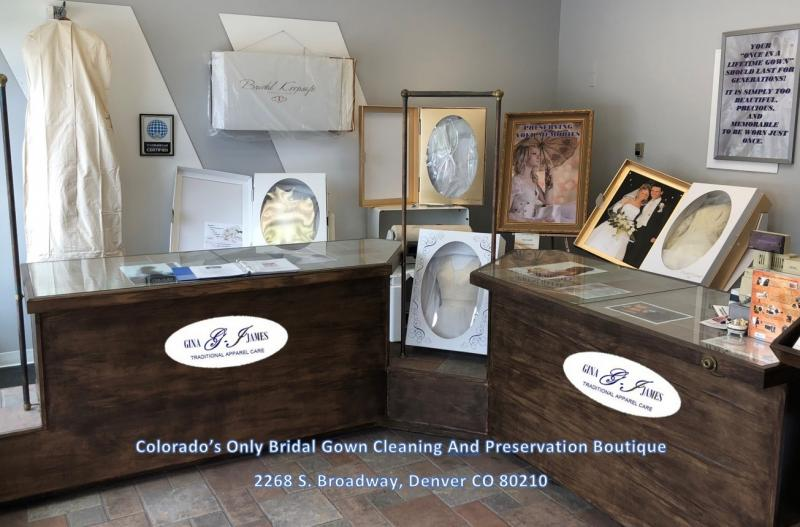 Colorado's only Bridal Gown Preservation and Cleaning Botique